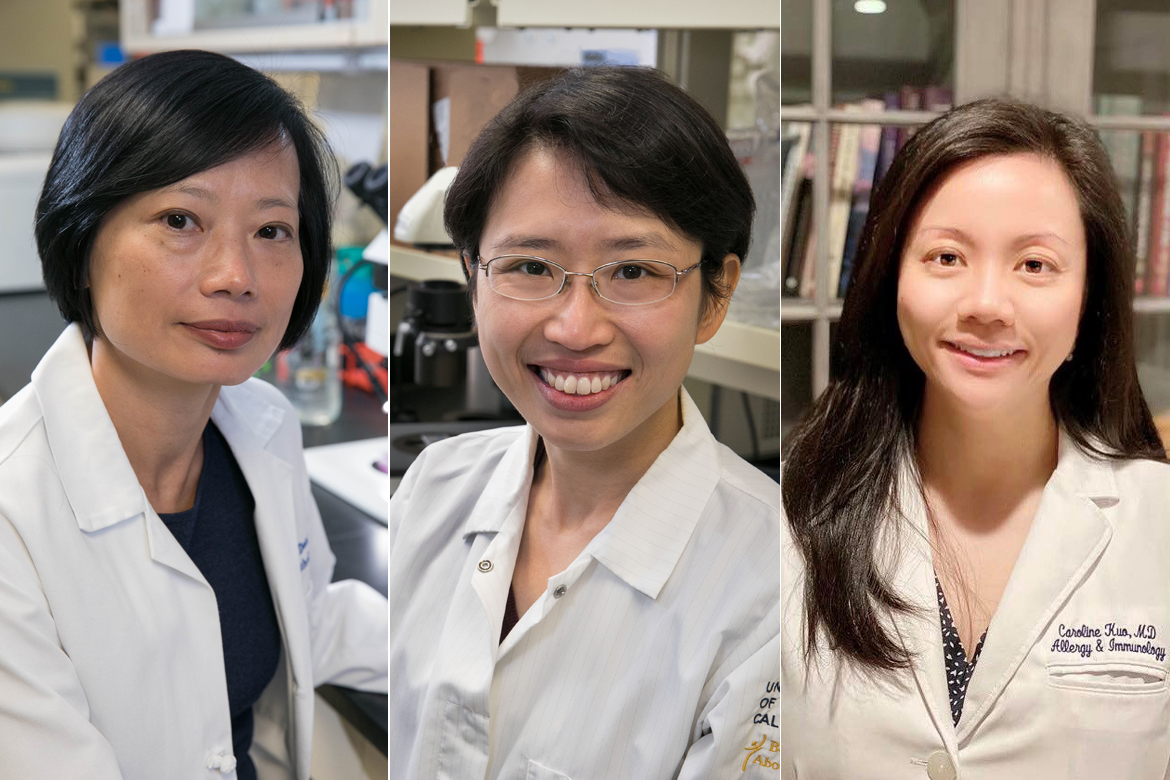 Dr. Sophie Deng, Yvonne Chen and Dr. Caroline Kuo