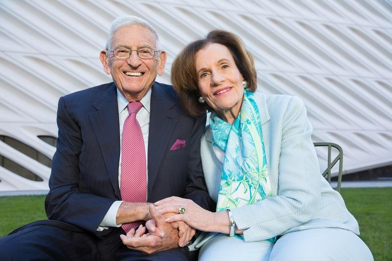 a photo of Eli and Edythe Broad