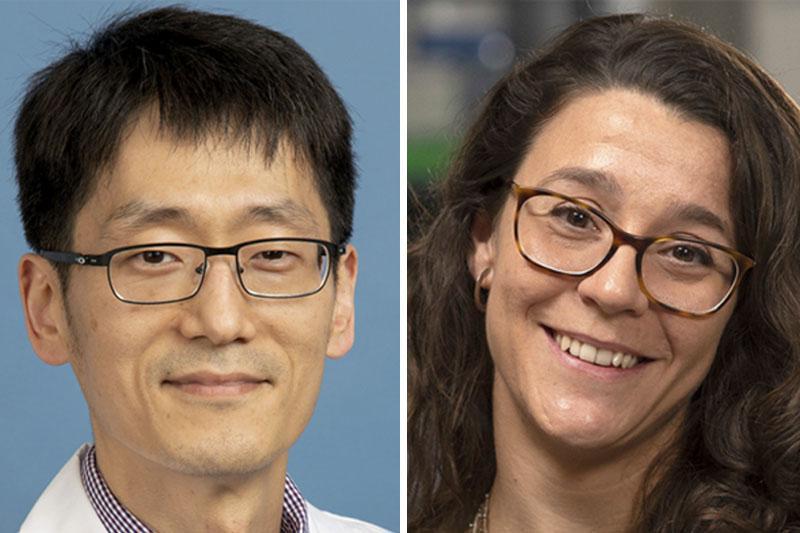 Dr. Daniel Shin and Dr. Cristina Puig-Saus