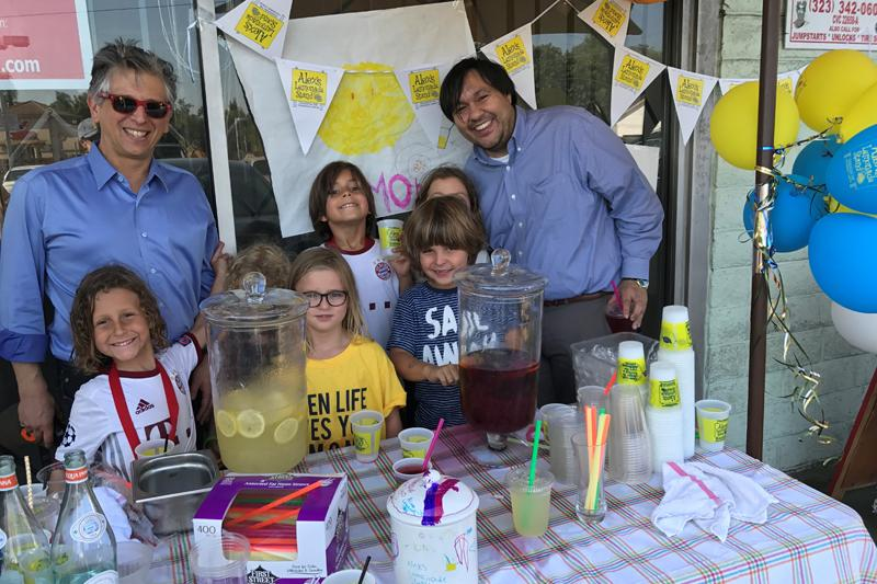 Steve Jonas - Alex's Lemonade Stand Foundation.