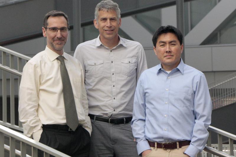 Dr. Antoni Ribas, Thomas Graeber and Dr. Roger Lo