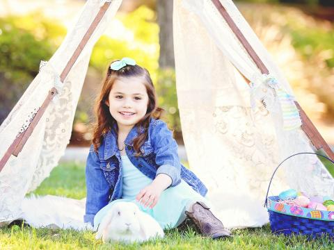 Evangelina Vaccaro received Dr. Kohn's treatment for bubble baby disease in 2012.