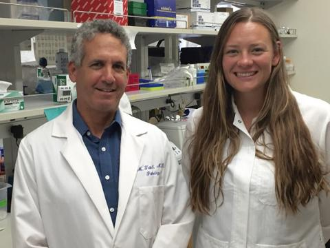 Picture of Dr. Teitell and Tara TeSlaa
