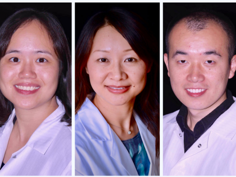Shirley Xi Wang, Lili Yang and Ryan Yu-Chen Wang