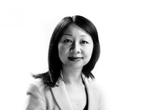 Lili Yang headshot in black and white