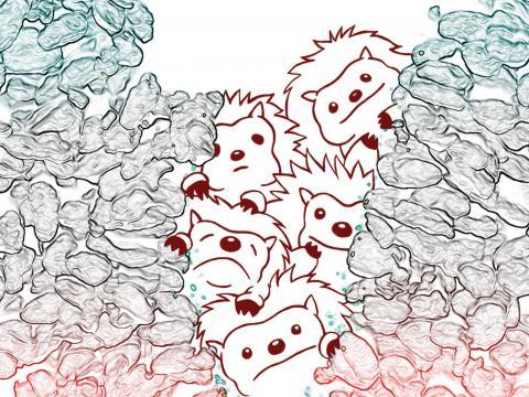 sonic hedgehog sketch